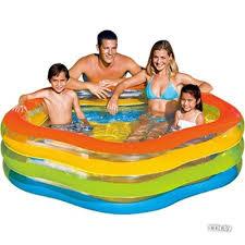 ᐅ Надувной семейный бассейн <b>Intex Summer Colors 185х180х53</b> ...