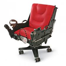 you too can own an office chair made out of an ejector seat car seat office chairs