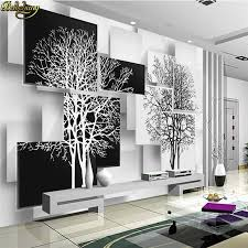 beibehang <b>Custom</b> Photo Wallpaper Mural Abstract <b>Tree</b> Modern ...