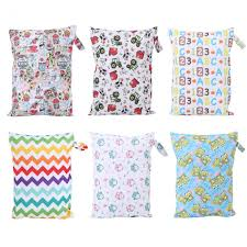 <b>Baby</b> Diaper Bag Reusable <b>Waterproof Fashion Prints</b> Wet Dry ...