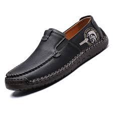 2020 Men Moccasins Casual Loafers <b>Plus size 38 48</b> Comfortable ...