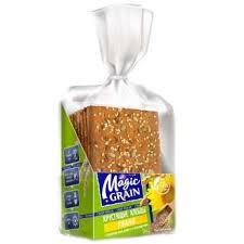 Хлебцы <b>Magic Grain</b> ржаные с семенами льна, кунжута и ...