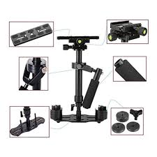 Adjustable Handheld Stabilizer <b>Camera Mini Portable</b> Aluminum ...
