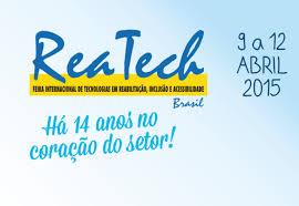Resultado de imagem para Reatech - Feira Internacional de Tecnologias em Reabilitação
