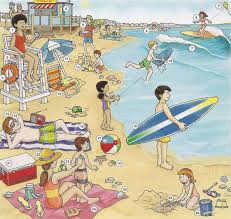 Typical <b>summer</b> activities: английский язык летом