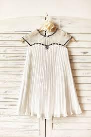 <b>Pleated</b> Shop Online <b>Flower Girl Dresses</b> for Wedding - Princessly