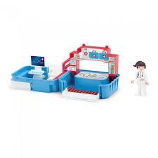 <b>Efko</b> Раскладывающийся <b>игровой набор</b> Больница с медсестрой ...