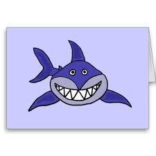 Funny <b>Shark Thinking</b> of you card #<b>sharks</b> #funny #thinkingofyou ...