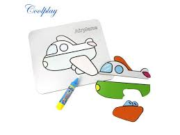 3D <b>Baby Children</b> Educational Paper board Puzzle <b>Toys</b> Water ...