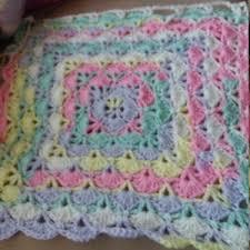 Garden <b>Lace Square</b> granny <b>square</b> pattern and full <b>photo</b> tutorial ...
