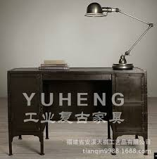 industrial wind do the old retro furniture wrought iron desk computer desk cashier american country american retro style industrial furniture desk