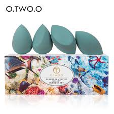 <b>O</b>.<b>TWO</b>.<b>O Makeup Sponge</b> Flawless <b>Beauty Blender</b> Set 4pcs/box ...