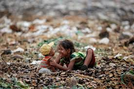 In world     s poorest slums  landfills and polluted rivers become a     PBS