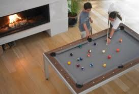 pool table dining tables: too often our dining tables are relegated to dust collecting duty when it isnt dinner time functioning in the same way beds do in our lives that is