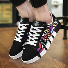 EXCARGO Chunky Sneakers <b>Men</b> Flats Canvas Shoes <b>High</b> Top ...