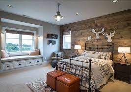 bedroom rustic bedroom design bedroom with reclaimed barnwood the boys bedroom features white boys bedroom lighting