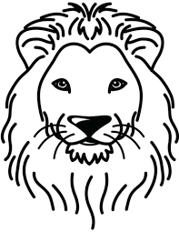 Small Picture Lion Portrait coloring page Free Printable Coloring Pages