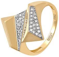Золотое <b>кольцо Kabarovsky 11-2920-1000</b> с бриллиантами ...