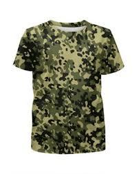 """Детские футболки c неординарными принтами """"военный"""" - <b>Printio</b>"""