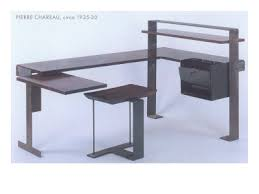 the pierre chareau office module above shows how form became more adventurous and geometric many designers created modern art deco office furniture in this art deco office chair