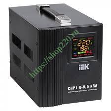 Купить <b>Стабилизатор напряжения</b> СНР1-0- 5 кВА электронный ...