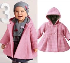Sinfu Baby Girls Boys Kids Jacket Coat <b>Autumn Winter</b> Warm Long ...