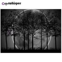Wholesale Moon <b>Tree</b> Painting for Resale - Group Buy Cheap Moon ...