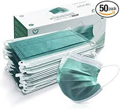 4 Ply Disposable Face Mask Protective(50PCS ... - Amazon.com