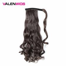 <b>Valen Wigs Clip In</b> Ponytail Hairpieces False Hair Ponytail Hairpiece ...