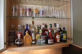 unique liquor cabinet ikea made of wood with glass shelving for home bar room furniture ideas bar room furniture home