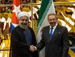Resultado de imagen de presidente de Iran en Cuba