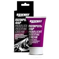 «<b>Полироль фар Runway</b>, туба, <b>50 мл Runway</b> RW0501 ...