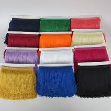 wholesale <b>10 yards 15cm</b> Long Fringe Lace Tassel Polyester Lace ...