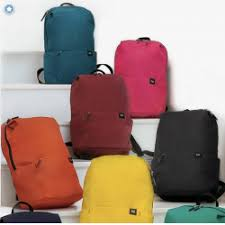 Отзывы о <b>Рюкзак Xiaomi</b> Colorful <b>Mini</b> Backpack 10l