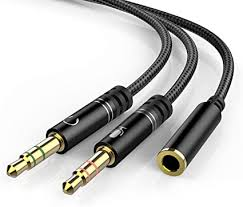 Headphone 3.5mm Splitter Mic Cable for Computer ... - Amazon.com
