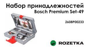 Обзор Набор принадлежностей <b>Bosch Premium Set</b>-<b>49</b> ...