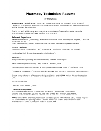 resume examples  pharmacy technician resume objective example        resume examples  sample pharmacy technician resume objective with summary of qualification and relevant experience