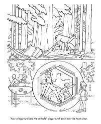 Small Picture Earth Day Coloring Pages Free Printable clean playgrounds