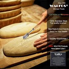 WALFOS <b>Bread</b> Lame New European <b>Bread</b> Arc <b>Curved Bread</b> ...
