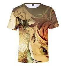 Fashion New <b>The Promised Neverland 3D</b> T Shirt Men Women ...
