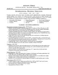 resume examples inspiring pictures and images as examples of  resume examples career accomplishments international business executive visionary skills language computer education background summary qualifications