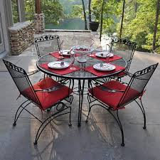 furniture and outdoor metal dining sets t m l f black wrought black wrought iron outdoor furniture