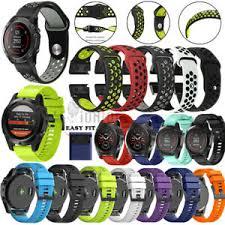 <b>Silicone Strap</b> Band Wrist For Garmin Fenix <b>22 26mm Watch</b> 5 5X ...