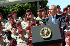 u s department of defense photo essay president george w bush addresses the paratroopers veterans and families of the 82nd airborne