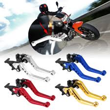 <b>1 Pair Motorcycle</b> Clutch handle Drum Brake Lever Universal Fit for ...