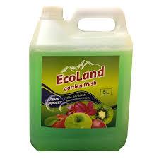<b>средство д/посуды ECOLAND Garden</b> Fresh Пена-эффект 5л гель ...
