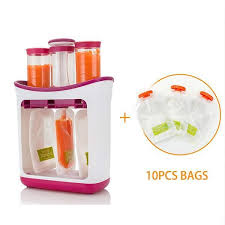 <b>Squeeze Food Station Baby</b> Food Maker Storage Containers Fruit ...