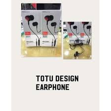 Totu Black <b>3.5 Mm Wired Earphone</b>, Rs 220 /piece, T & D Mobile ...