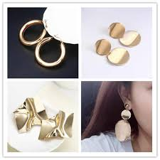 2019 Top Fashion <b>Tin Alloy Aretes</b> Earing Earings E365 New ...