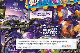 "That Rumour About Cadbury Taking ""<b>Easter</b>"" Off Packaging Is Still ..."